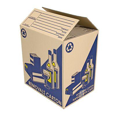 Super Easy Storage Book & Wine Box